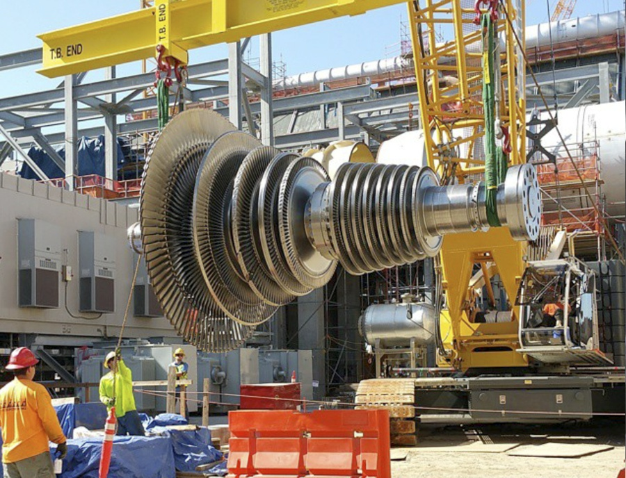 Turbine-Installation